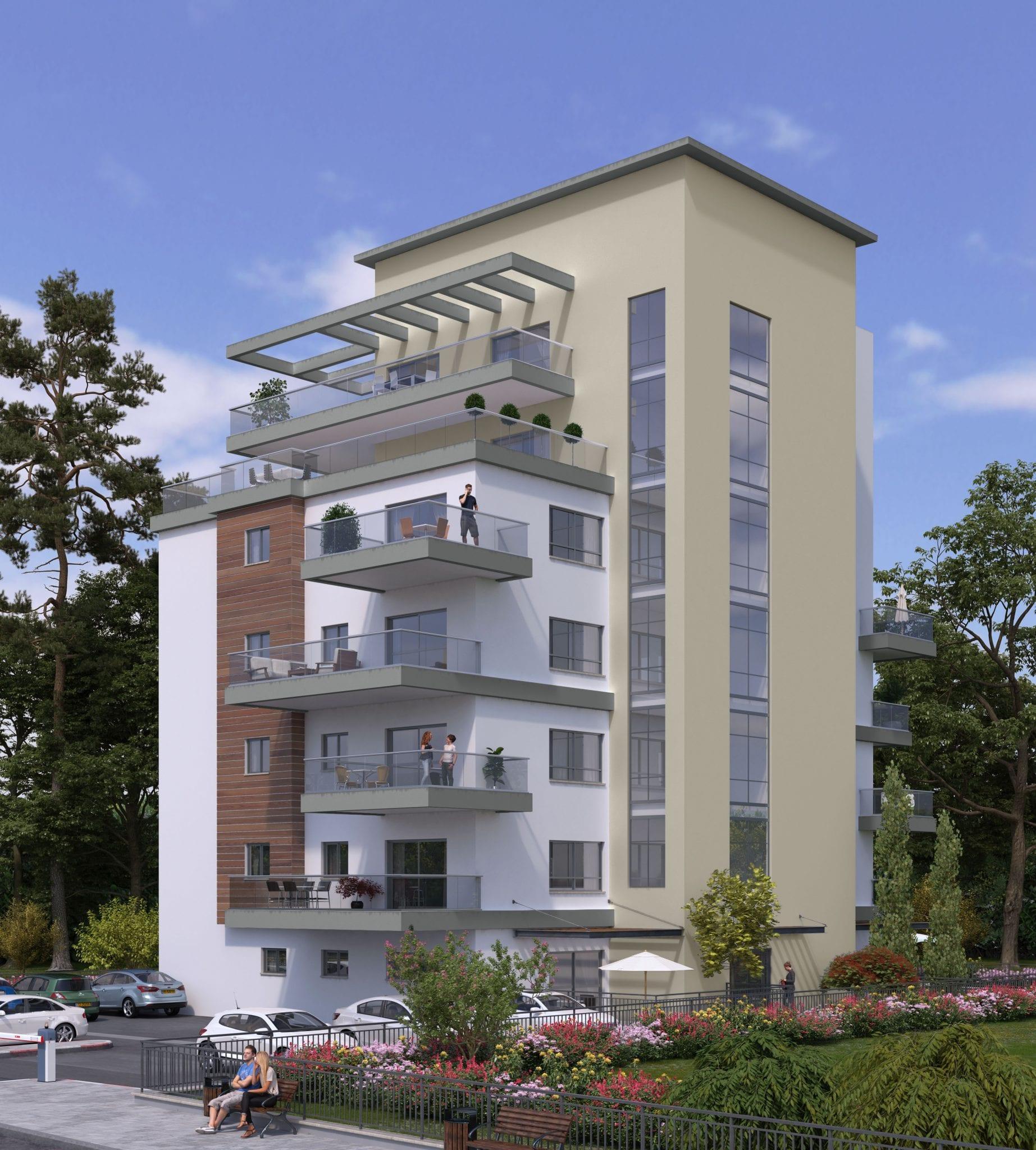 נופים בדרך למרחב - פרויקט בניה חדש בפרדס חנה
